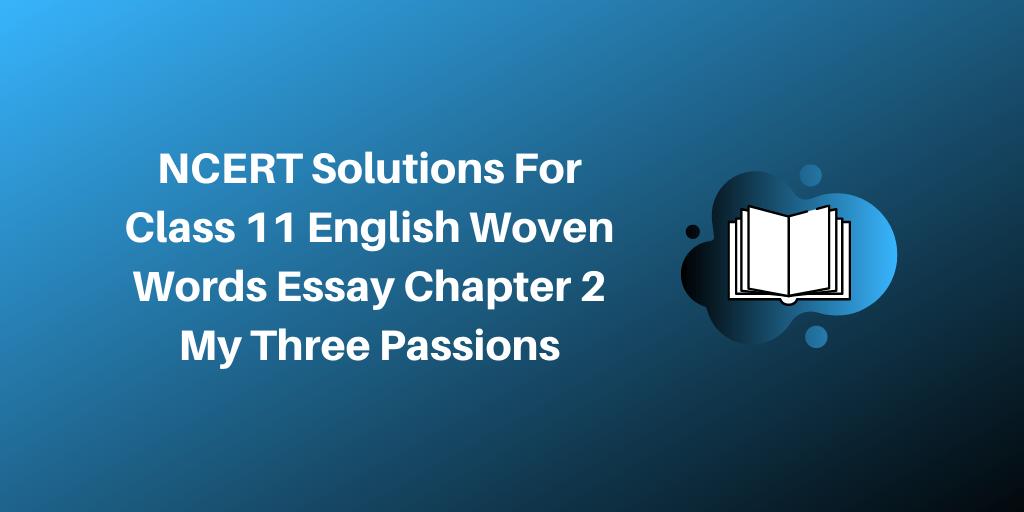 My Three Passions - blogger.com