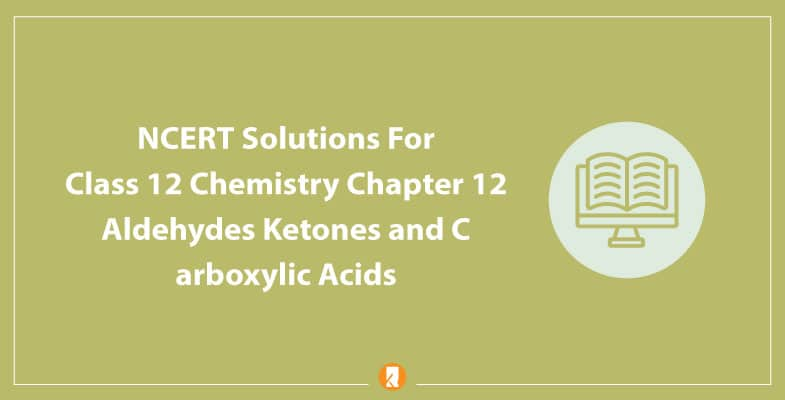 NCERT Solutions For Class 12 Chemistry Chapter 12