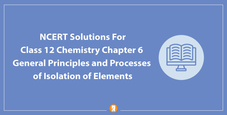 NCERT Solutions For Class 12 Chemistry Chapter 6 General Principles and Processes of Isolation of Elements