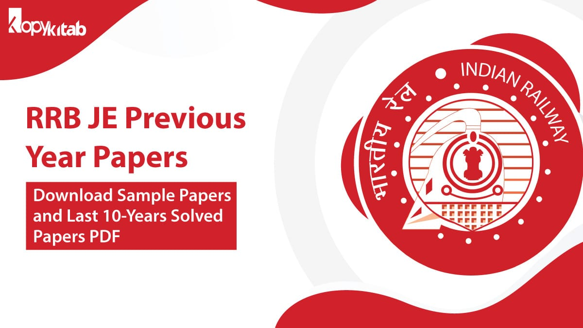 RRB JE Previous Year Papers