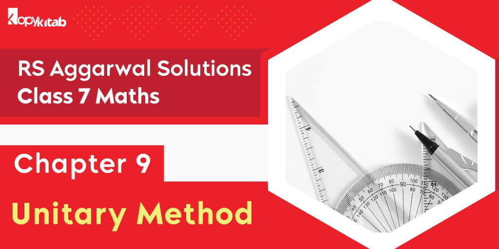 RS Aggarwal Solutions Class 7 Maths Chapter 9