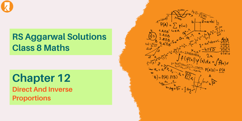 RS Aggarwal Solutions Class 8 Maths Chapter 12