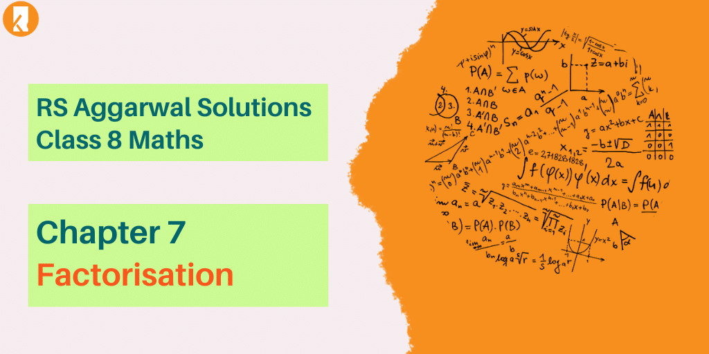 RS Aggarwal Solutions Class 8 Maths Chapter 7