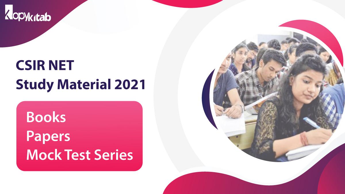 CSIR NET Study Materials