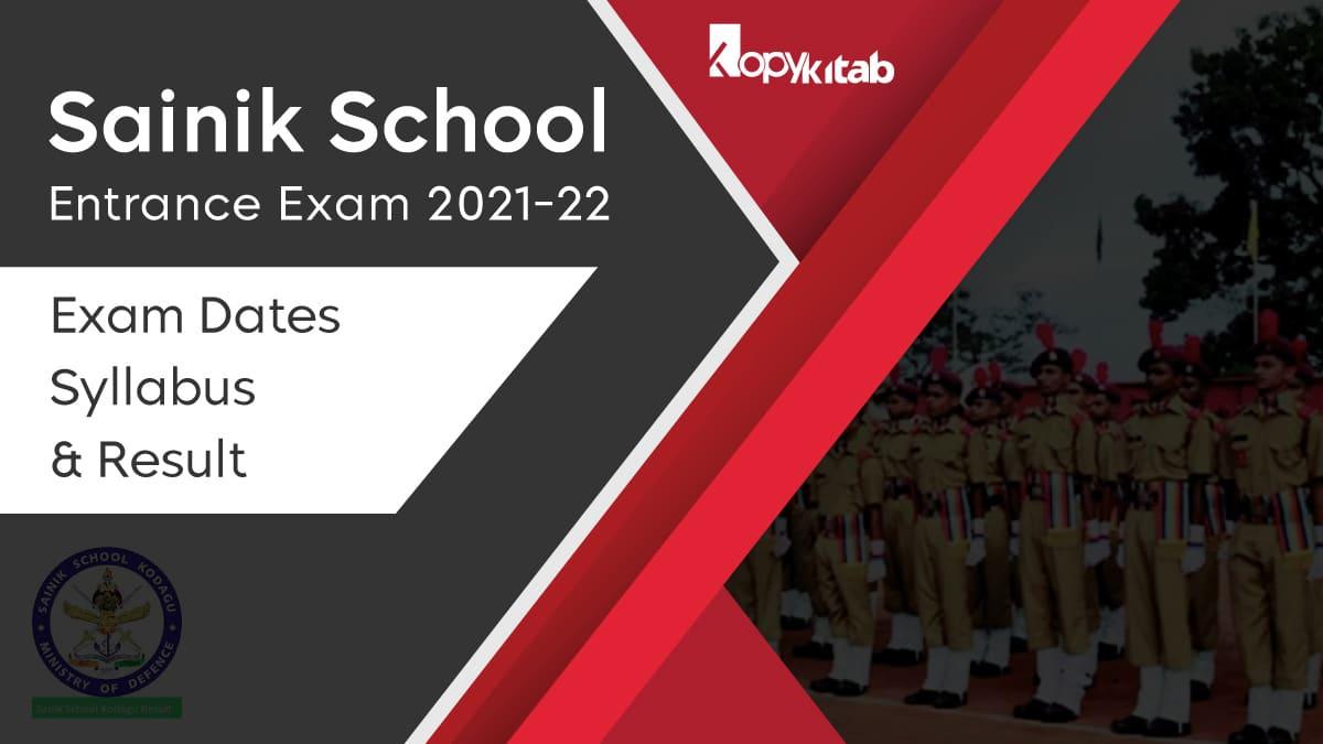 Sainik School Entrance Exam