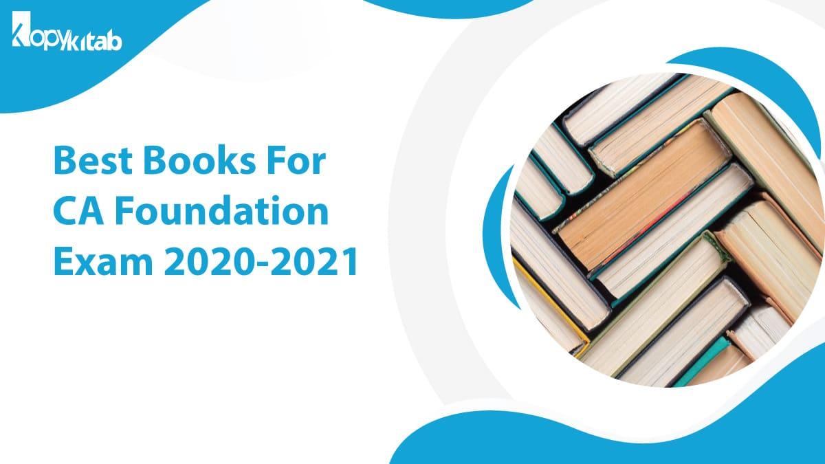Best Books for CA Foundation Exam