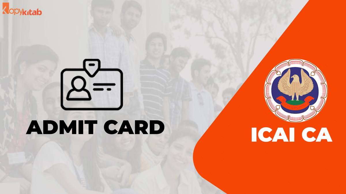 CA Admit Card