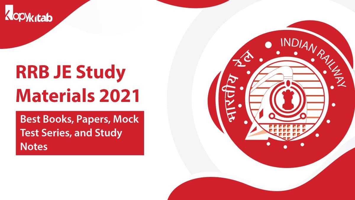RRB JE Study Materials