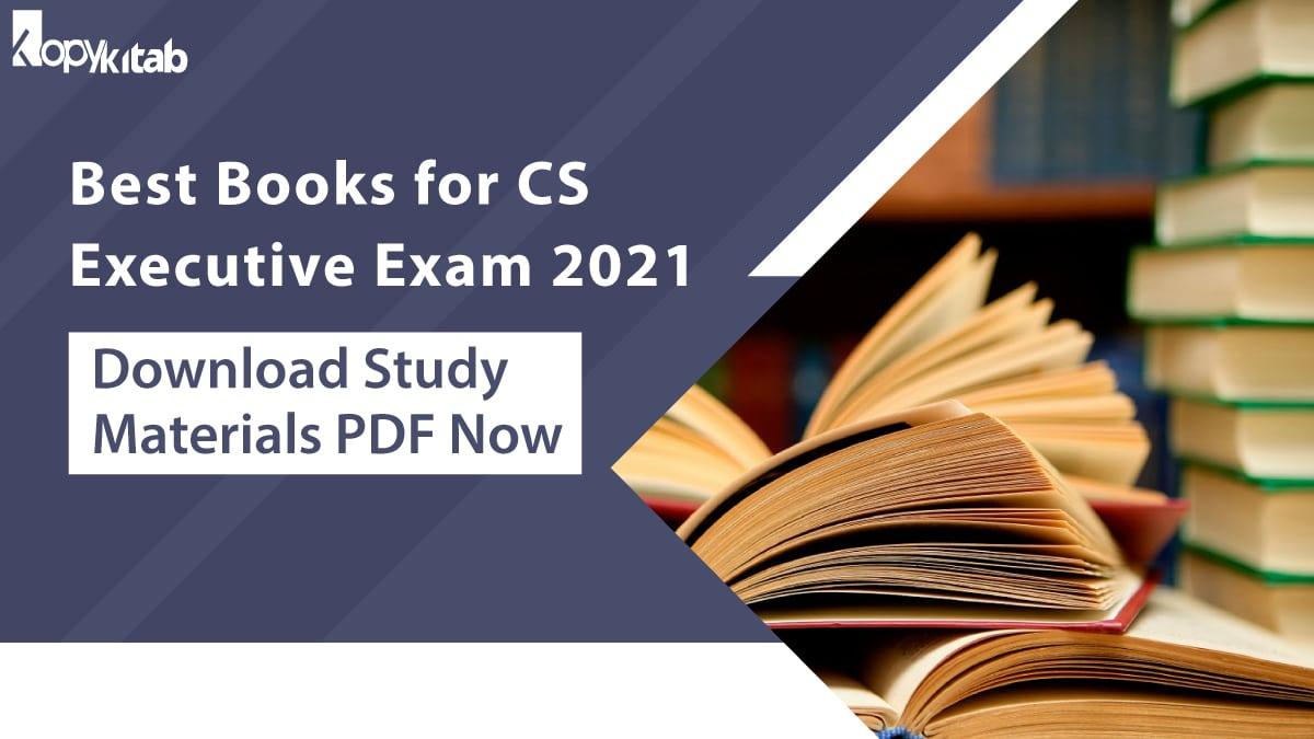 Best Books for CS Executive Exam