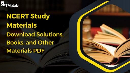 NCERT Study Materials