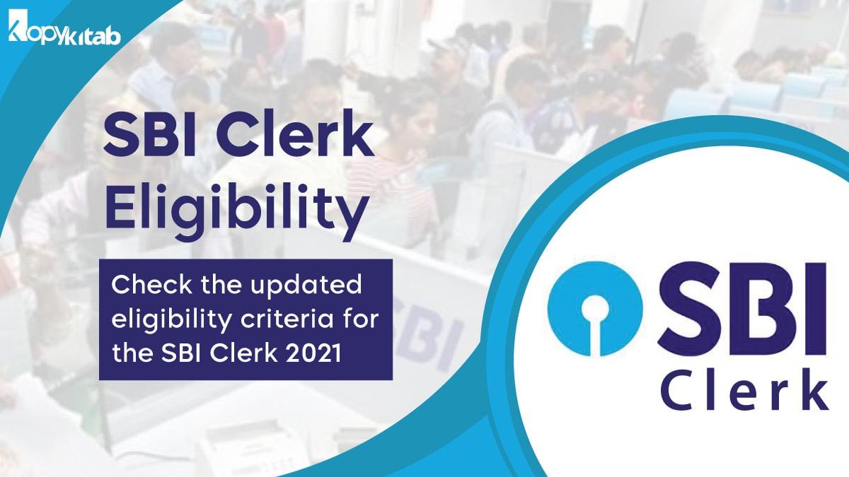 SBI Clerk Eligibility