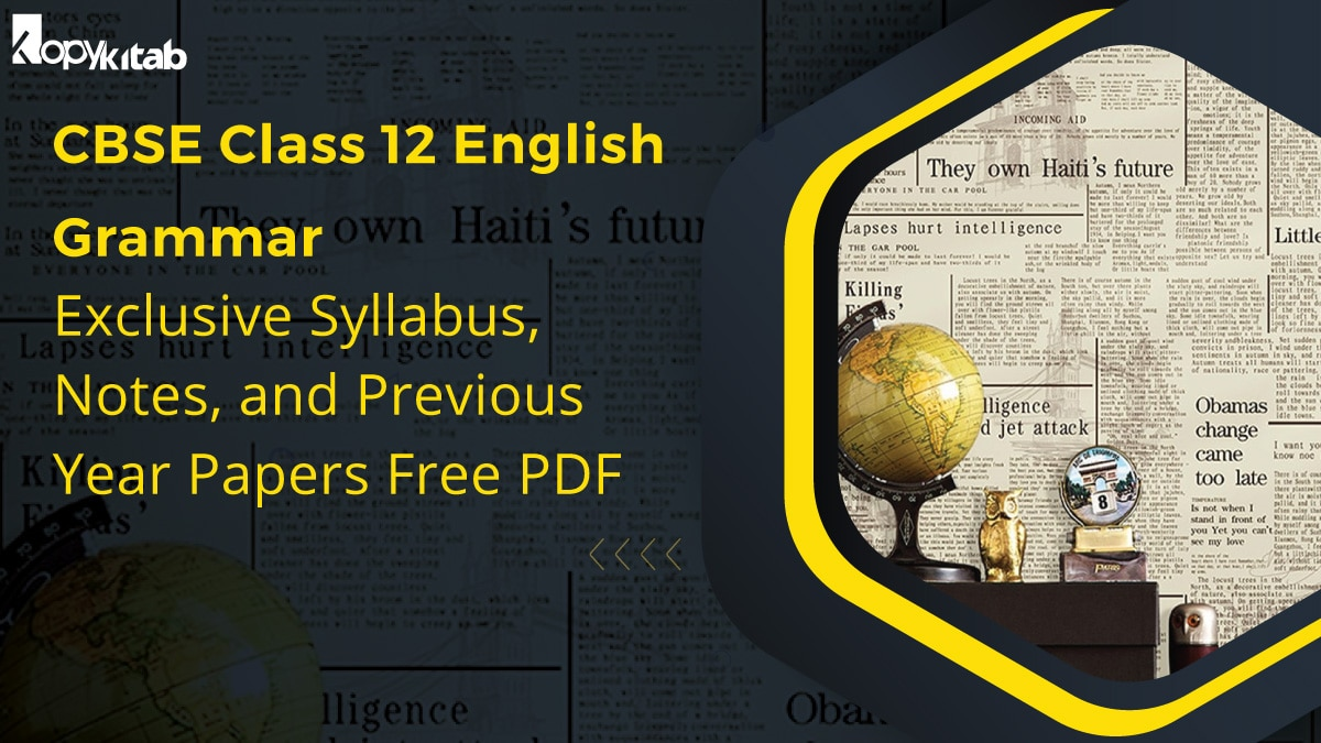 CBSE Class 12 English Grammar