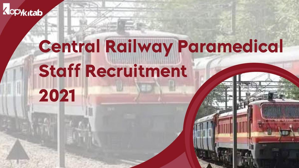 Central Railway Paramedical Staff