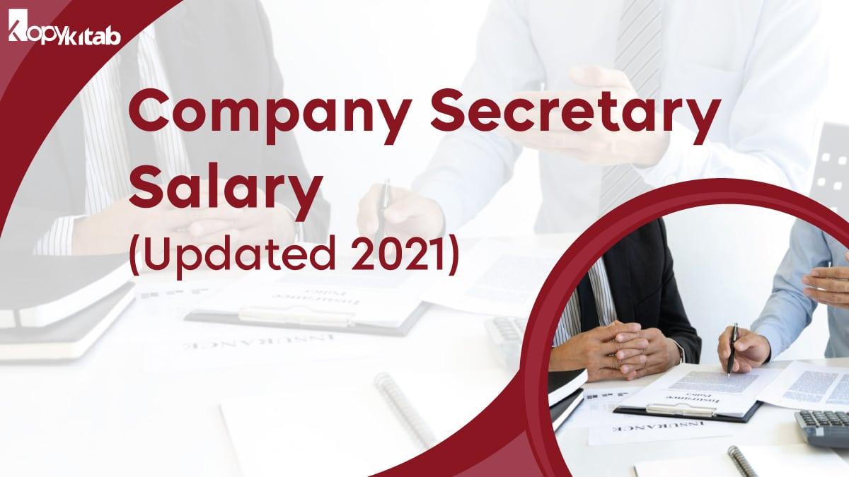 Company Secretary Salary