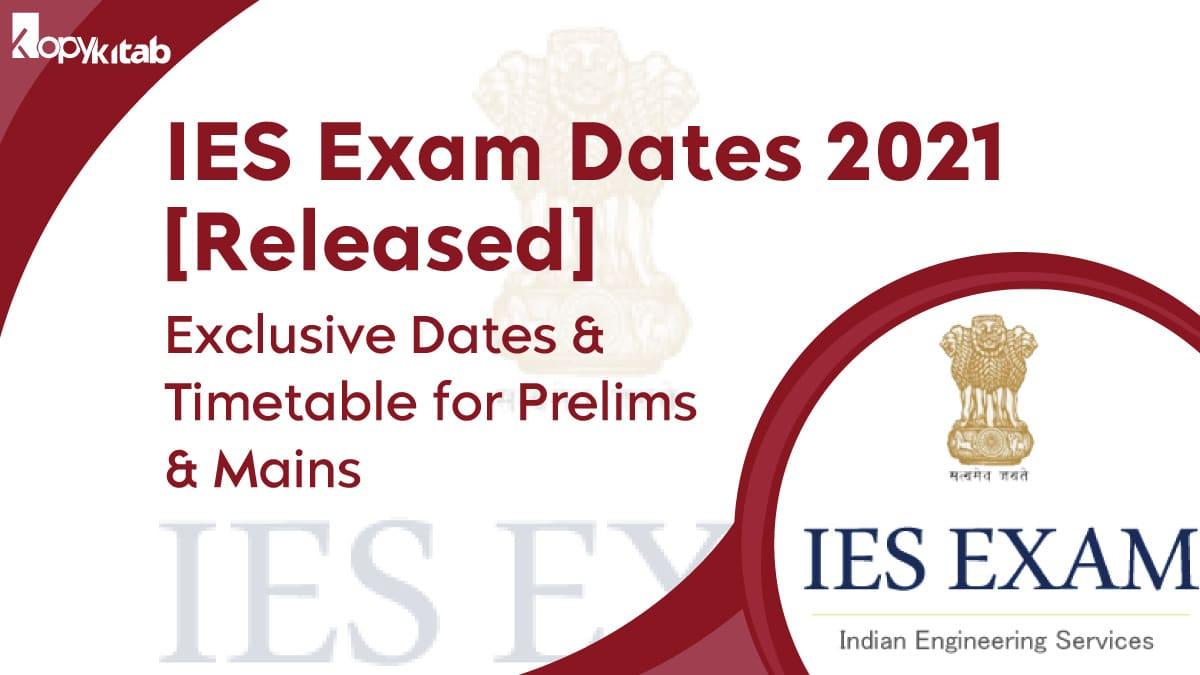 IES Exam Dates