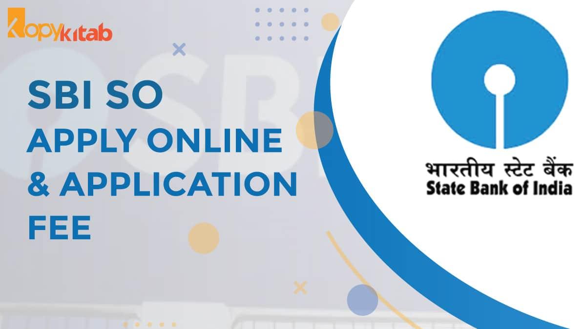 SBI SO Application form