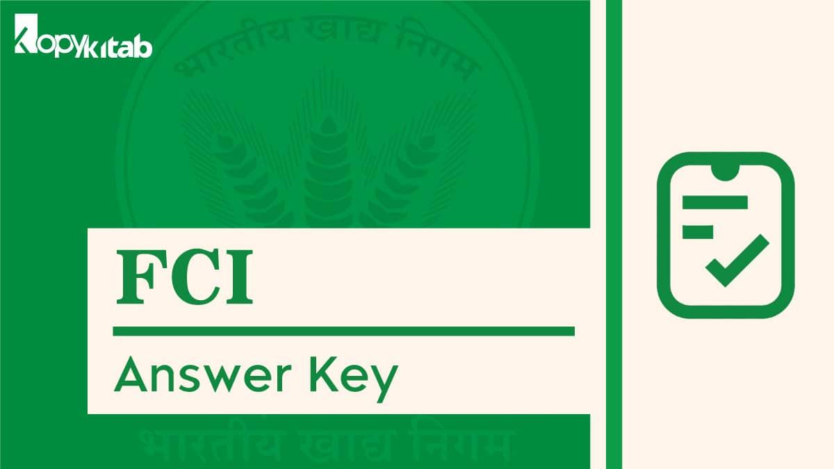 FCI Answer Key