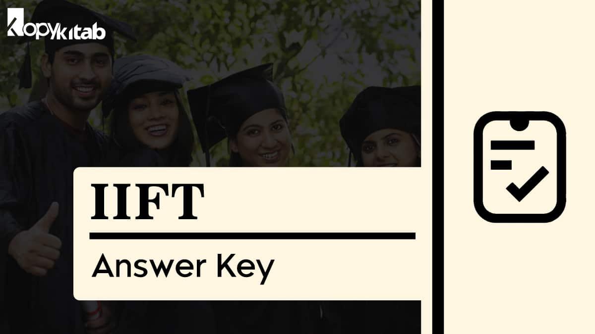 IIFT Answer Key