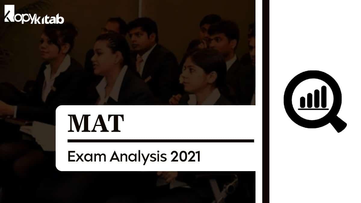 MAT Exam Analysis