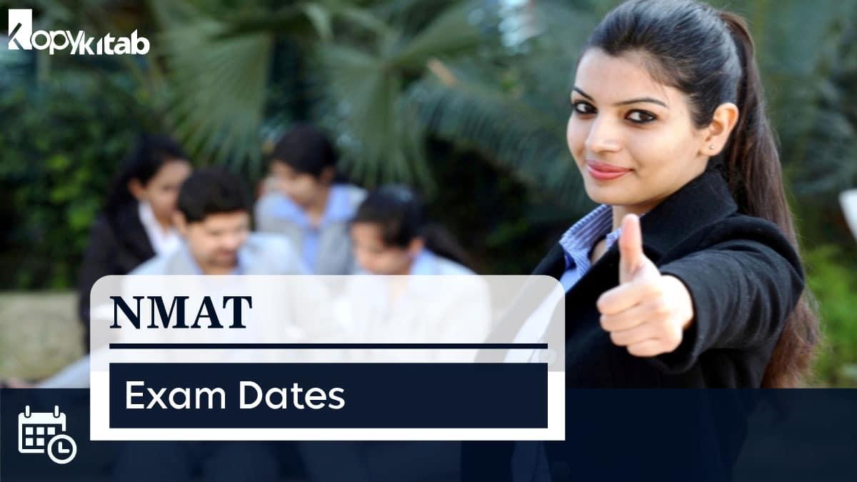NMAT Exam Dates