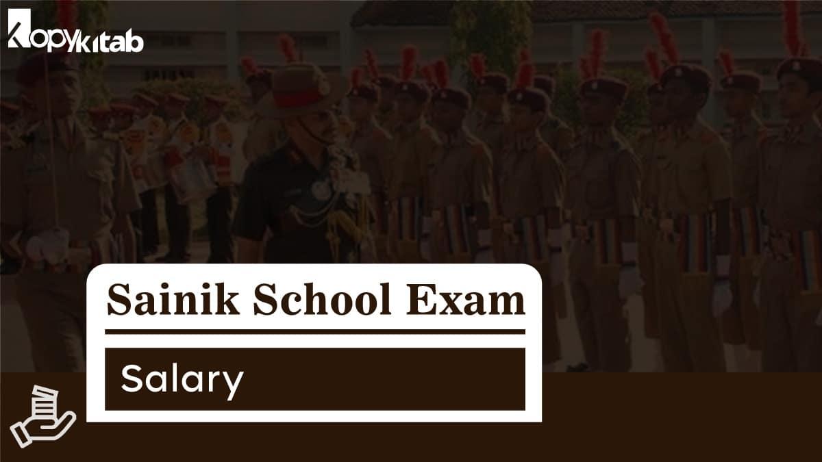 Sainik School Salary