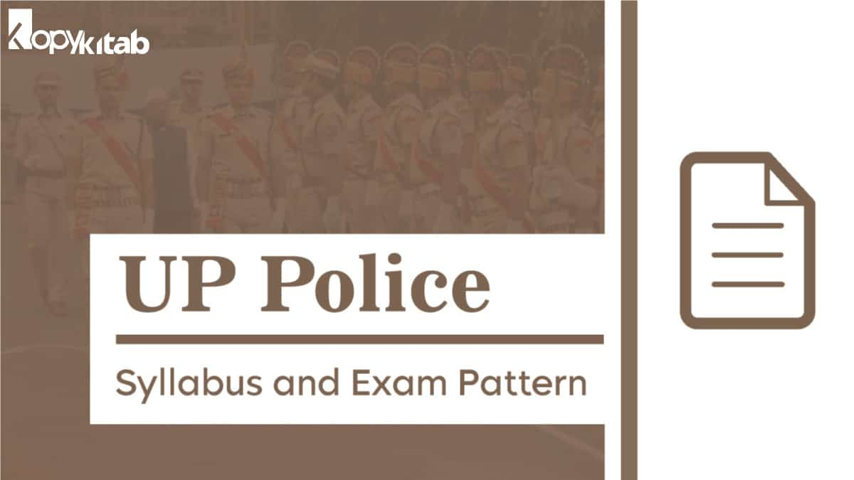 UP Police Syllabus and Exam Pattern