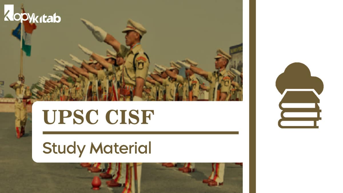 UPSC CISF Study Material