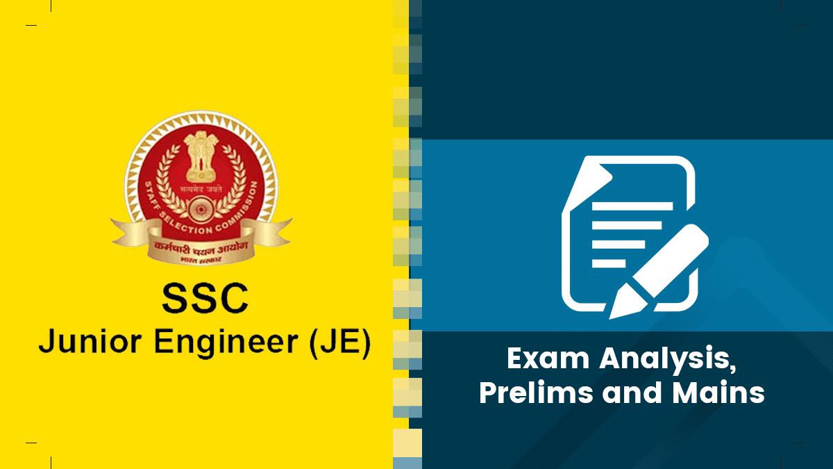 SSC JE Exam Analysis