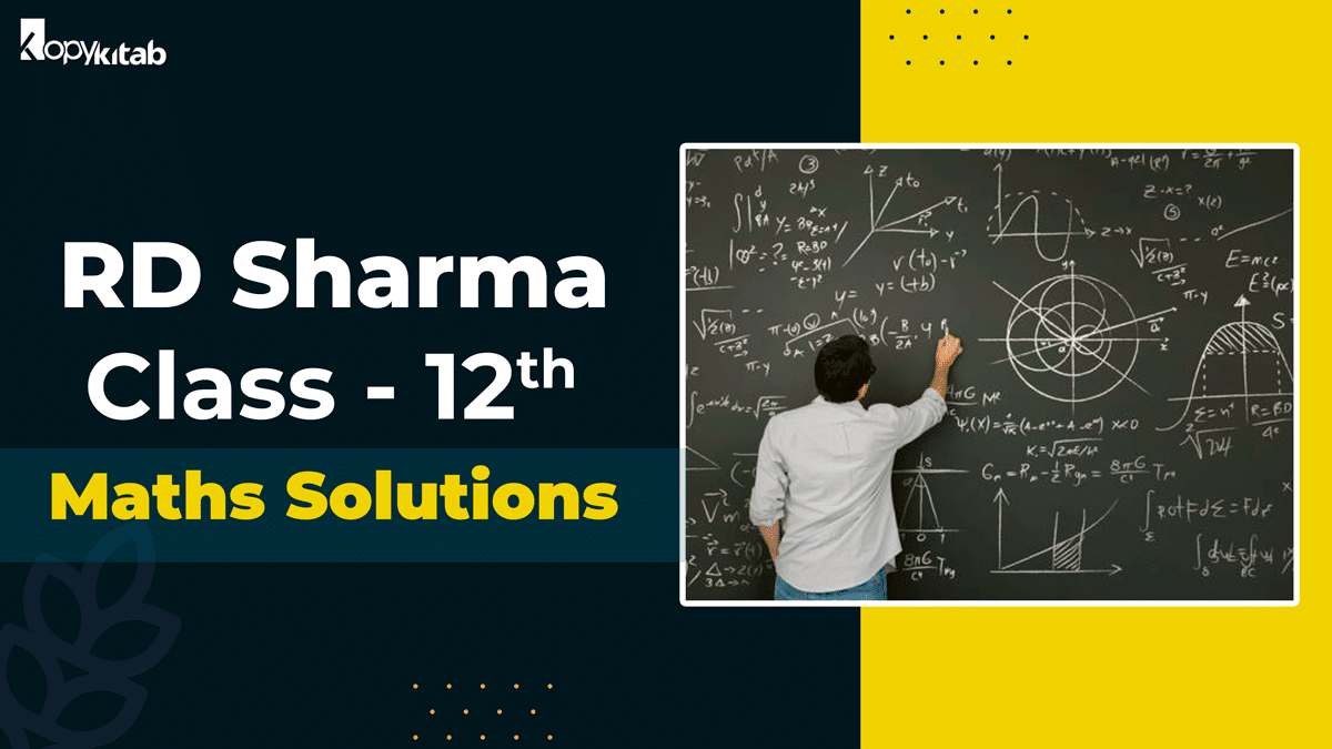 RD Sharma Class 12 Solutions