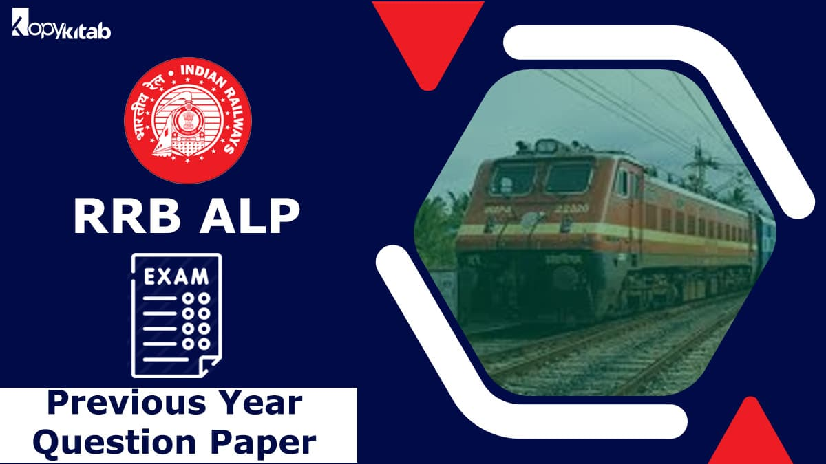 RRB ALP Previous Year Paper 2021