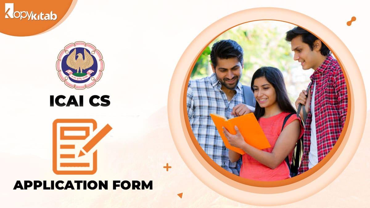 ICSI CS Application Form