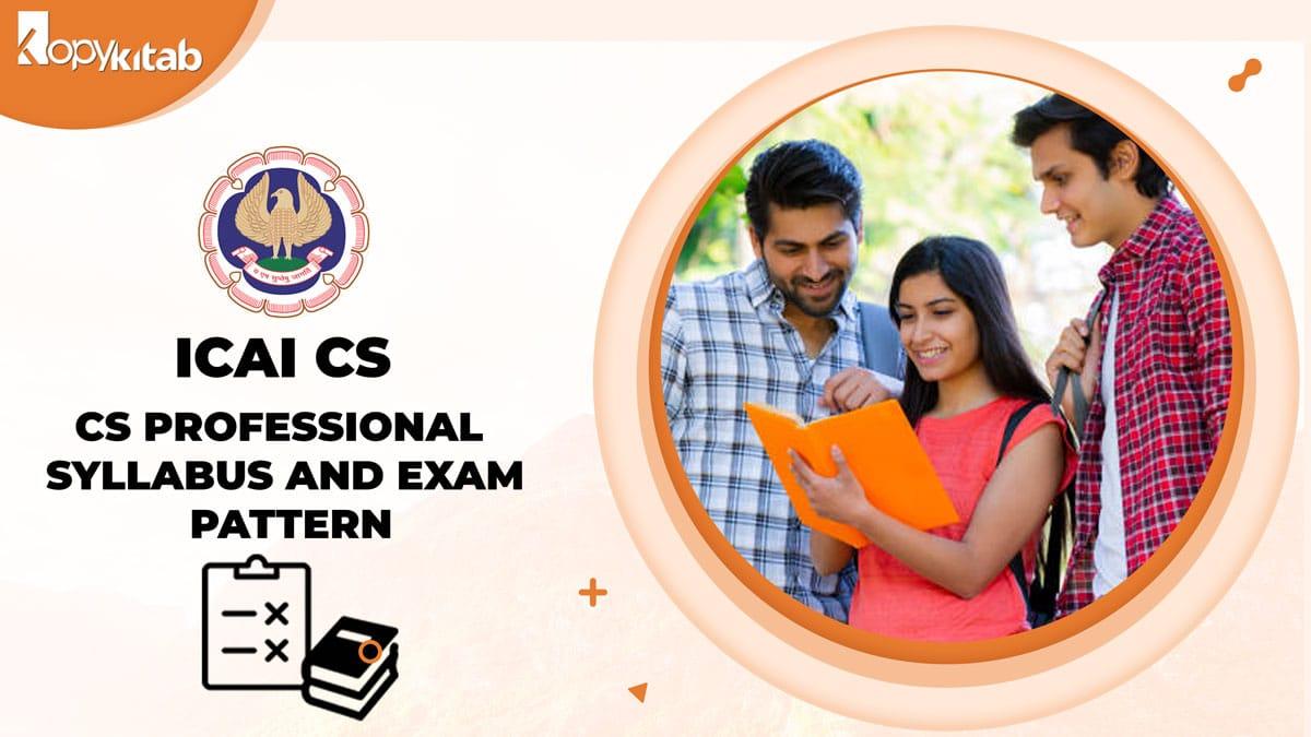 CS Professional Syllabus and Exam Pattern