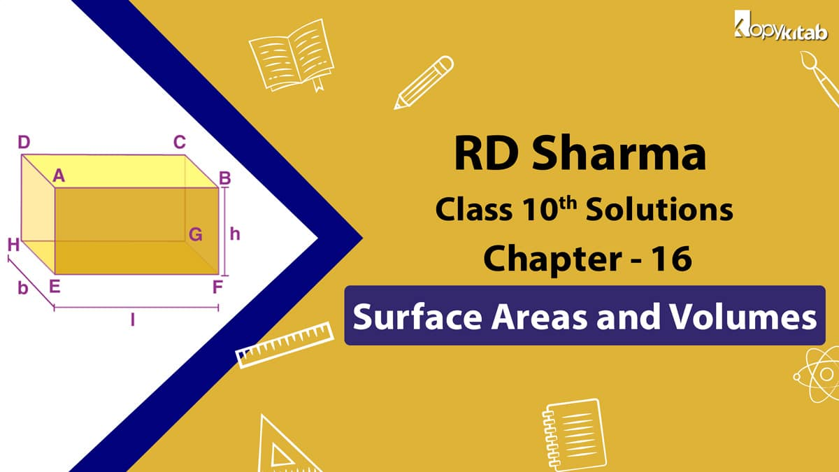 RD Sharma Class 10 Solutions Chapter 16