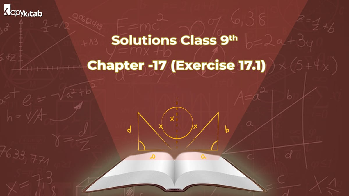 RD Sharma Class 9 Solutions Chapter 17 Exercise 17.1