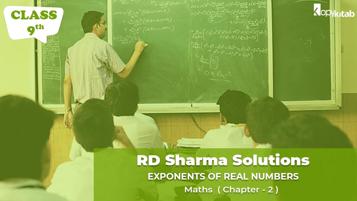 RD Sharma Solutions Class 9 Maths Chapter 2