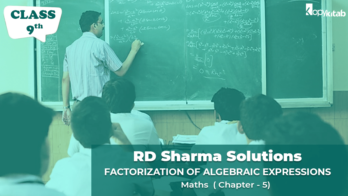 RD Sharma Solutions Class 9 Maths Chapter 5