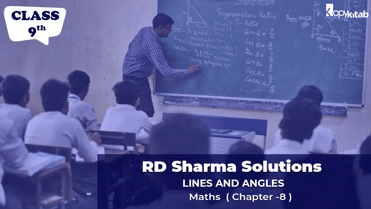 RD Sharma Solutions Class 9 Maths Chapter 8