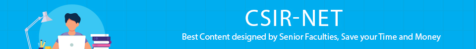 CSIR NET/JRF