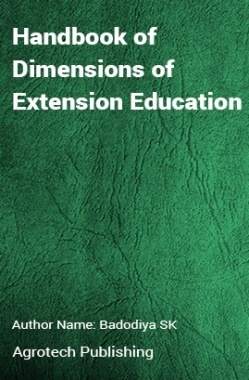 Handbook of Dimensions of Extension Education