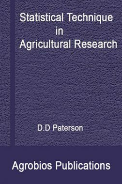 Statistical Technique In Agricultural Research