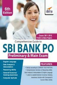 Comprehensive Guide To SBI Bank PO Preliminary & Main Exam 6th edition