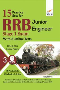 RRB Junior Engineer Stage I Exam (With 15 Practice Sets)