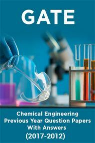 GATE Chemical Engineering Previous Year Question Papers With Answers (2017-2012)