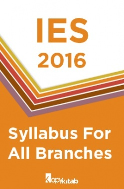 IES 2017  Syllabus For All Branches