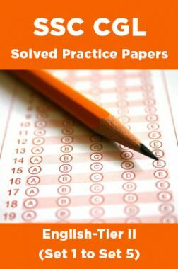 SSC CGL Solved Practice Papers English-Tier II (Set 1 to Set 5)