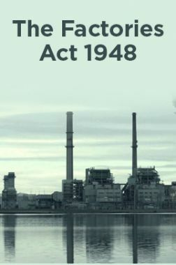 Factories Act 1948 Book Pdf