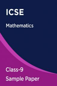 ICSE Maths Sample Paper For Class-9