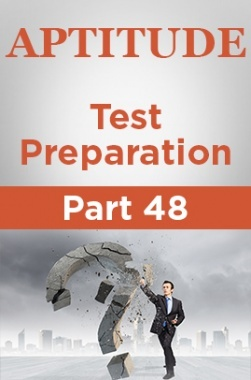 Aptitude Test Preparation Part 48