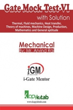 iGate Mechanical Mock Test VI With Solution By Mr Arvind Rai