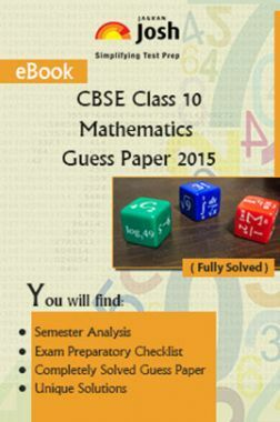 CBSE Class 10th Mathematics Solved Guess Paper SA-II 2015